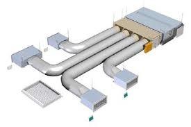 Impianti canalizzati isolclima for Climatizzatore canalizzato